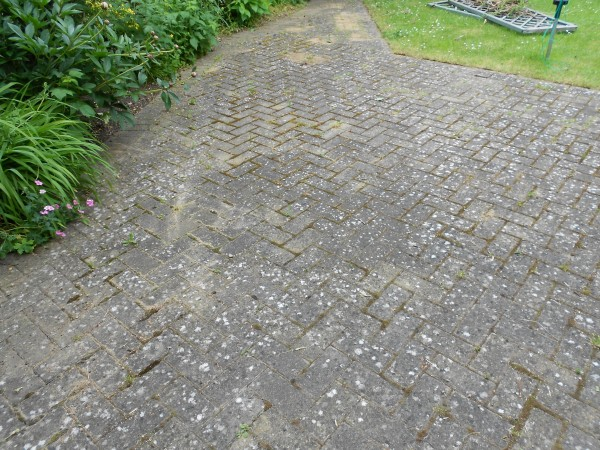 how to clean driveway like new