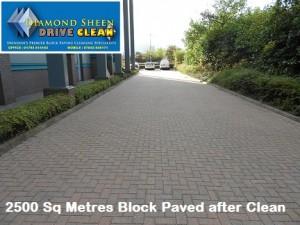 Commercial car Park after Clean