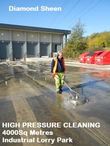 lorry park Cleaning
